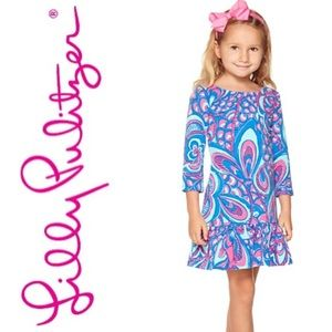 Lilly Pulitzer | Morgana Girls Dress Reel Me In
